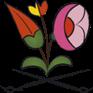Kalocsai porcelán (P60)