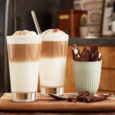 Kávé-Latte-fagylalt kelyhek (U50)
